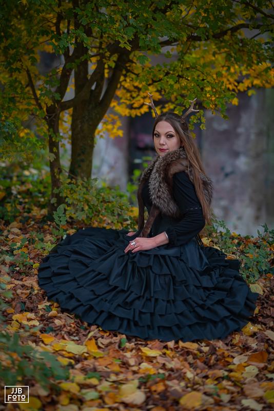 Model, Shoot, Herfst,
